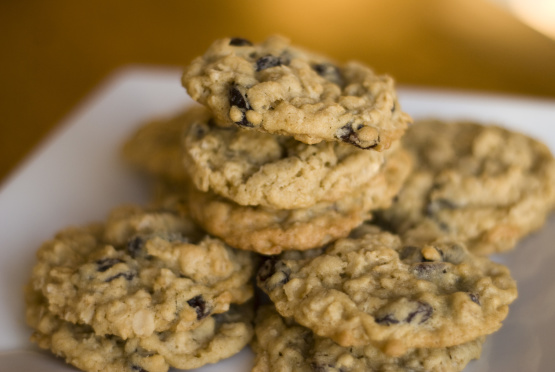 Oatmeal Raisin chewy, amazing, easy Cookies