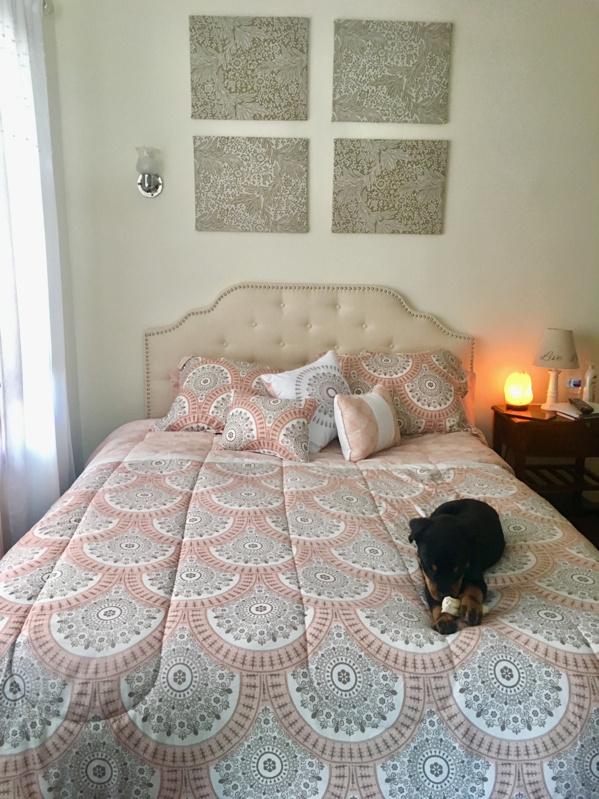My freakin Pinterest bedroom
